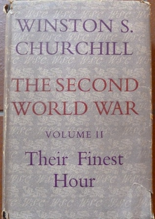 Image for The Second World War: Their Finest Hour (Volume II)