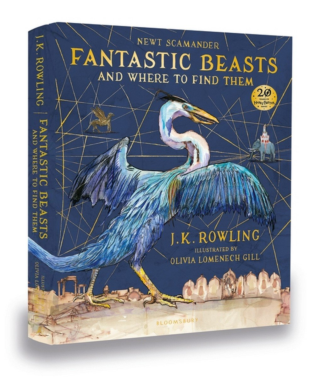 Image for Fantastic Beasts and Where to Find Them: Illustrated Edition