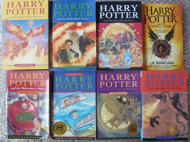 Complete Set Of Harry Potter Childrens Paperback Editions Harry
