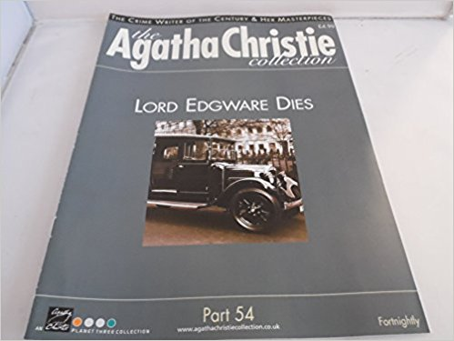 Image for The Agatha Christie Collection Magazine: Part 54: Lord Edgware Dies