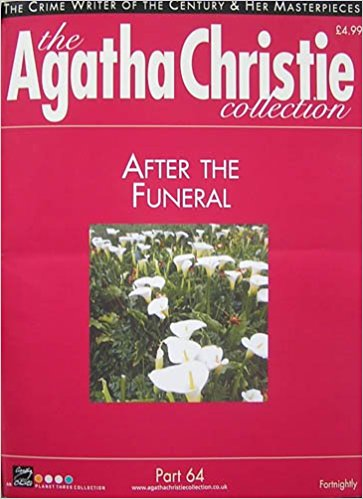 Image for The Agatha Christie Collection Magazine: Part 64: After The Funeral