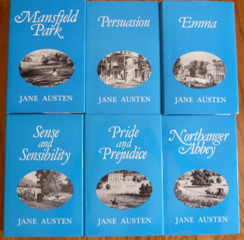 Image for Jane Austen Complete Works (Set of 6 volumes)