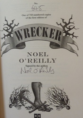 Image for Wrecker (Signed Numbered Limited edition)