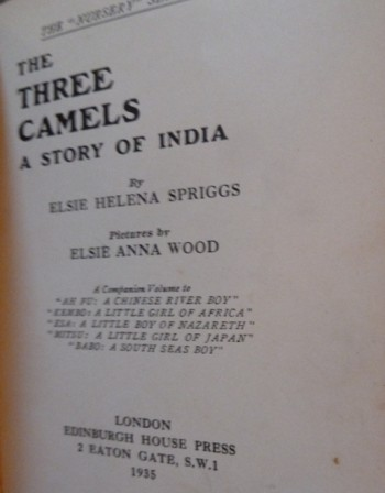 Image for The Three Camels -- A Story of India