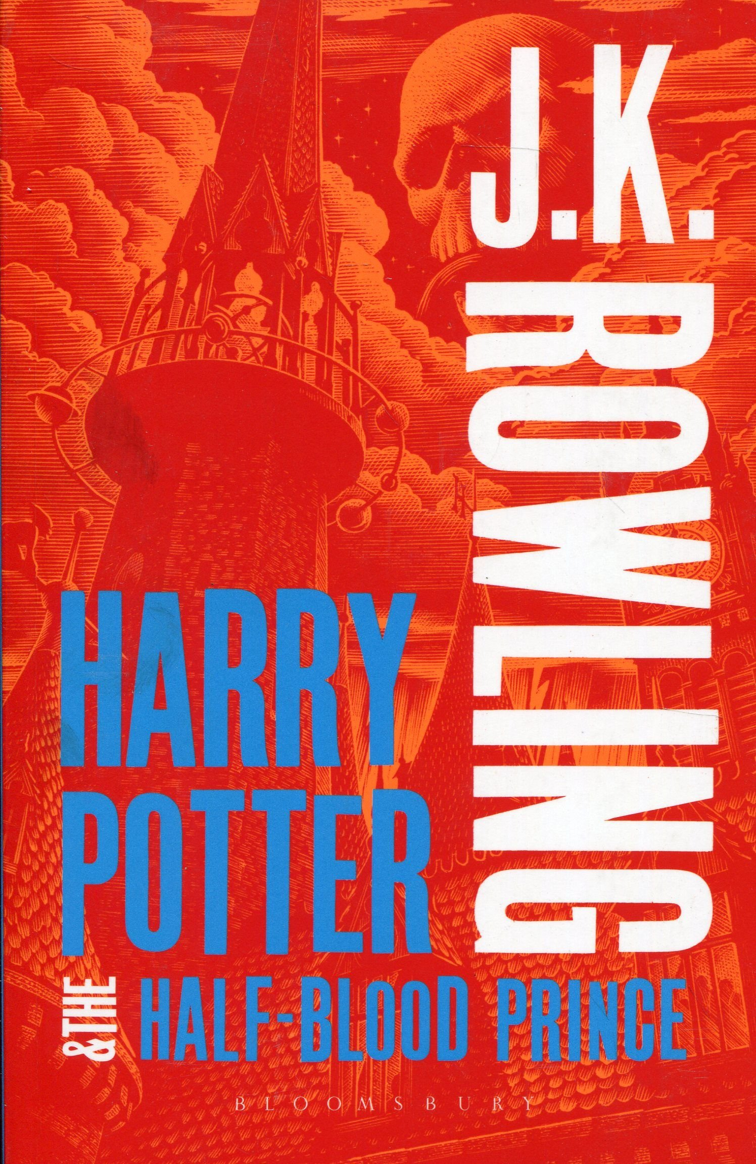 Image for Harry Potter and the Half-Blood Prince (Harry Potter 6 Adult Cover)