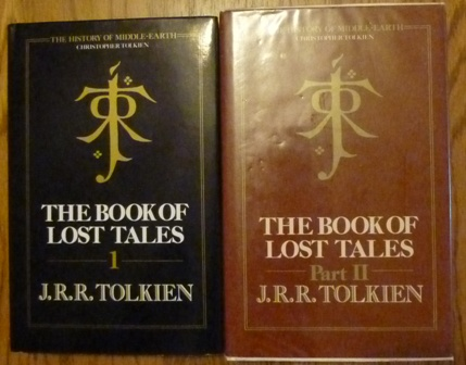 Image for The Book of Lost Tales: Pt. 1 & Pt. 2 (History of Middle-Earth)