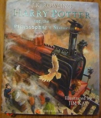 Image for Harry Potter and the Philosopher's Stone: Illustrated Edition (First UK edition-first printing)