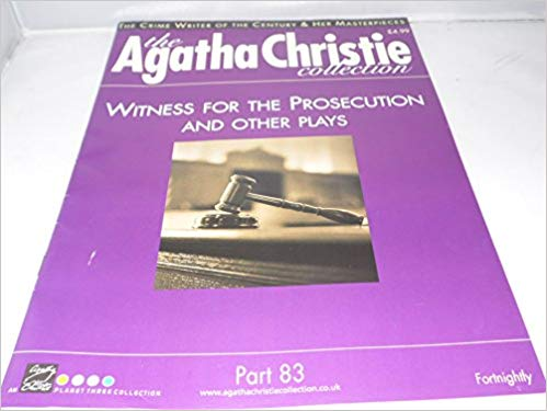 Image for The Agatha Christie Collection Magazine: Part 83: Witness For The Prosecution And Other Plays