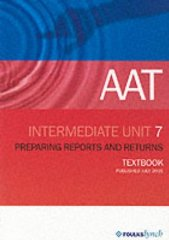 Image for AAT NVQ: Unit 7 (Aat Textbooks)