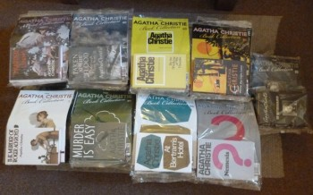 Image for Agatha Christie Collection- Full set of 85 Hardbacks and Magazines Plus Binders and Extras