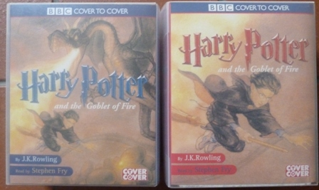 Image for Harry Potter and the Goblet of Fire (Book 4 - Part 1 and Part 2 -Complete and Unabridged 14 Audio Cassette set)