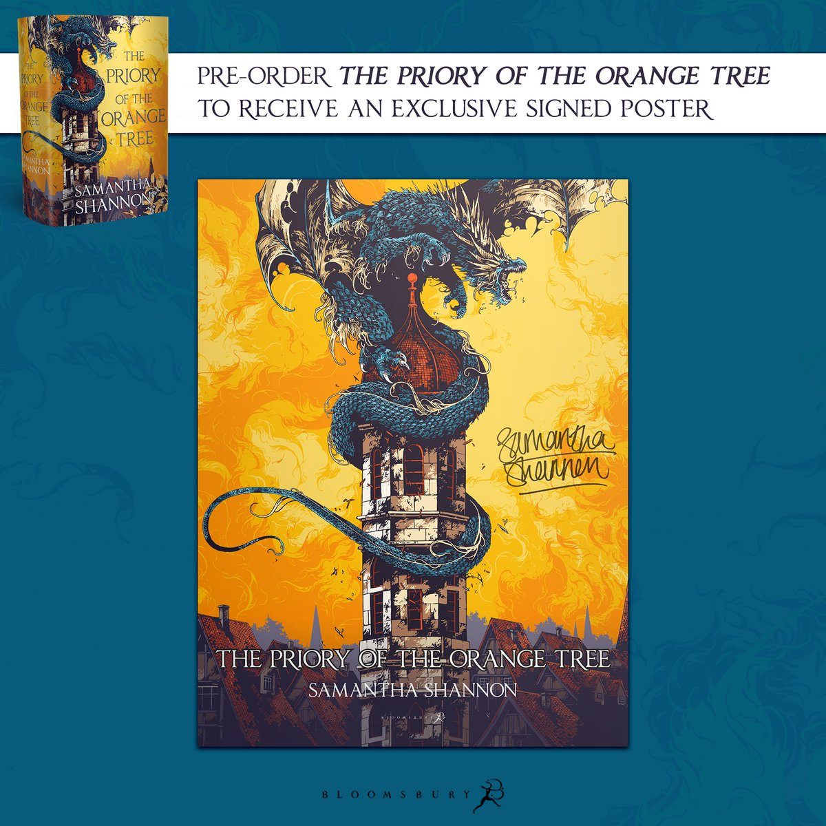 Image for The Priory of the Orange Tree- Exclusive Signed Poster