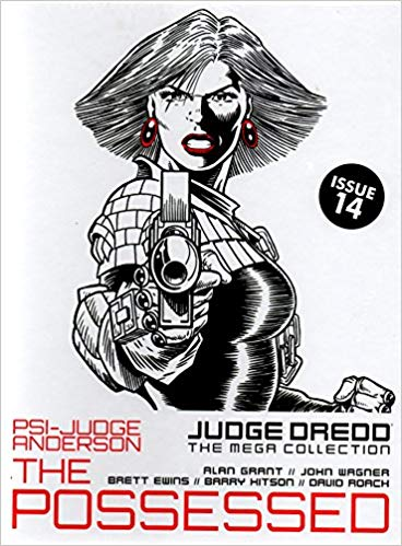 Image for Judge Dredd The Mega Collection issue 14 - Psi-Judge Anderson: The Possessed