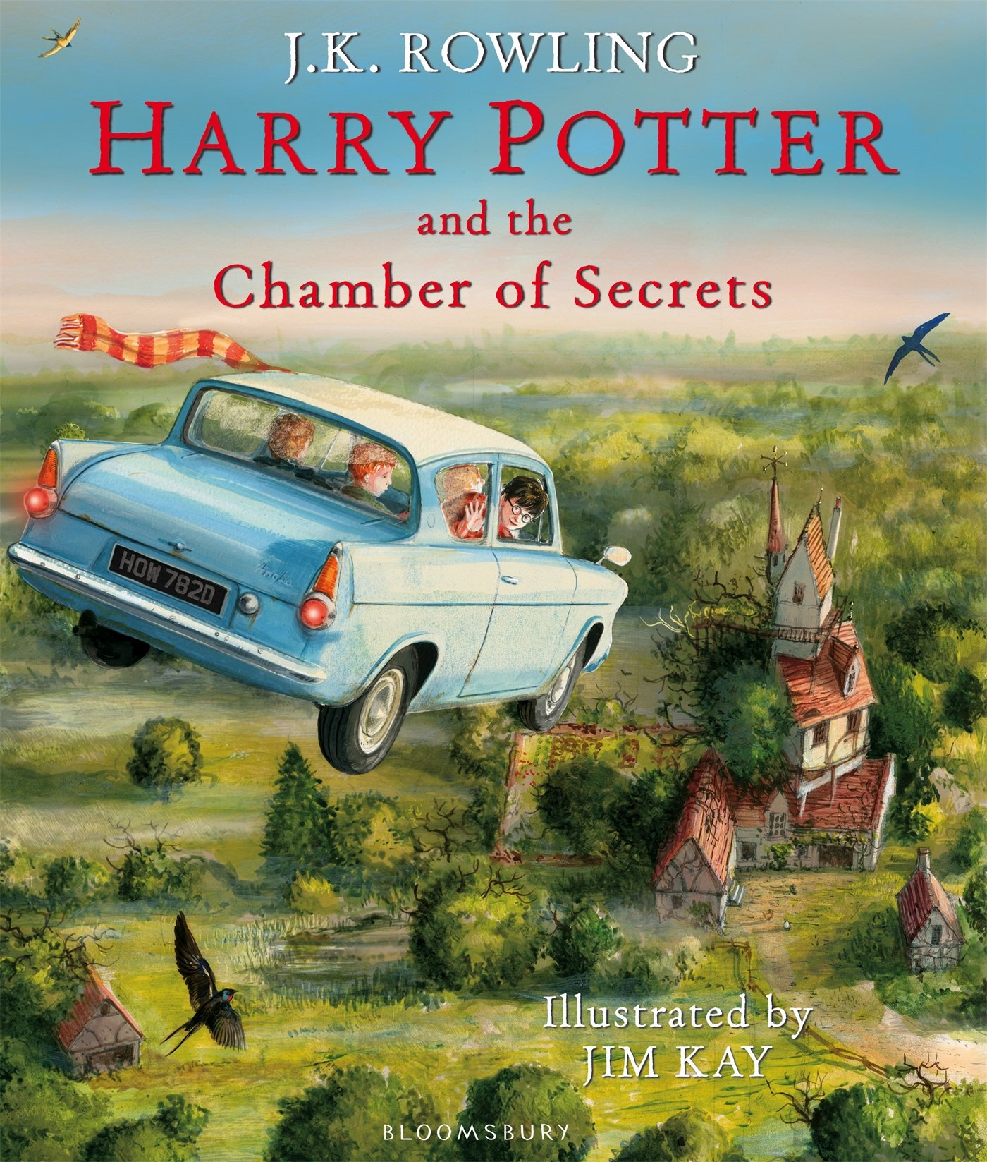 Image for Harry Potter and the Chamber of Secrets: Illustrated Edition (Harry Potter Illustrated Edition)