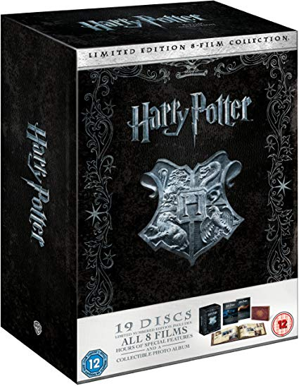 Image for Harry Potter: The Complete 1-8 Film Collection - Limited Numbered Edition (Blu-ray + DVD) [2011] [Region Free] [Blu-ray]