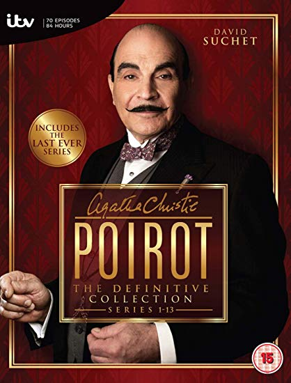 Image for Agatha Christies Poirot - Series 1-13: The Definitive Collection [DVD]
