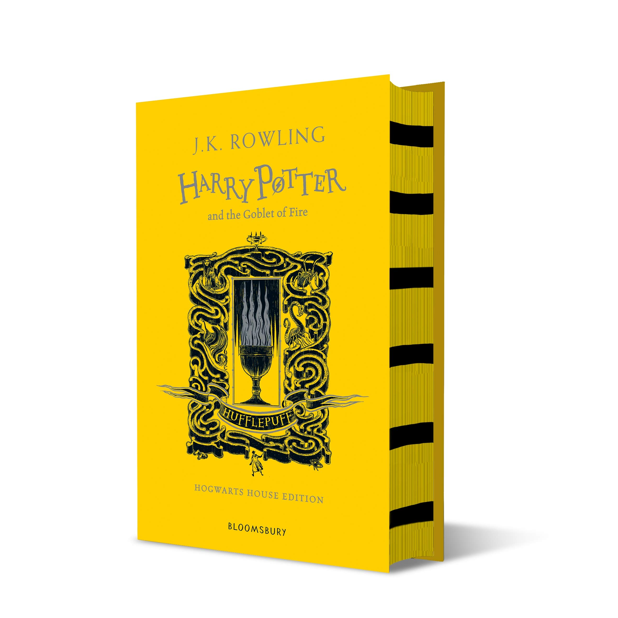 Image for Harry Potter and the Goblet of Fire Hufflepuff Edition (Harry Potter House Editions)