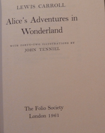 Image for Through the Looking-Glass & Alice's Adventures in Wonderland (Two volumes)