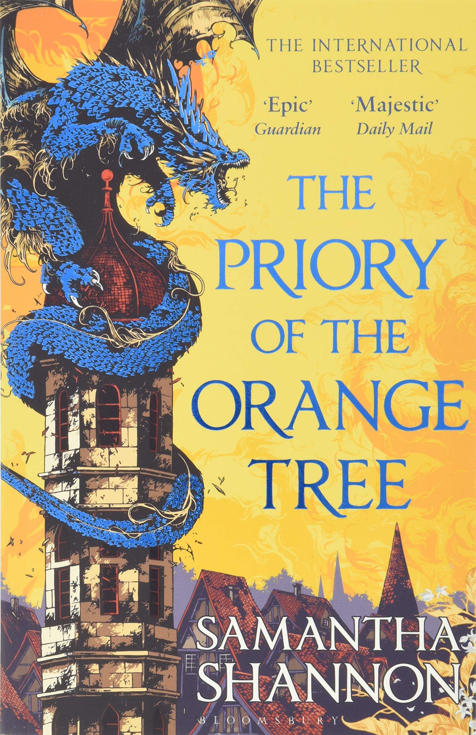 Image for The Priory of the Orange Tree: THE NUMBER ONE BESTSELLER