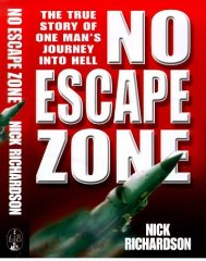 Image for No Escape Zone: One Man's True Story of a Journey to Hell(Signed)