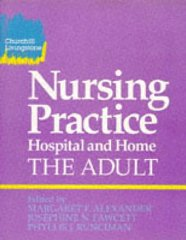 Image for Nursing Practice: Hospital and Home : The Adult