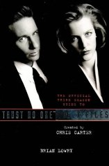 Image for Official Guide to the X-files: Trust No One - The Third Season v. 2 (X Files)