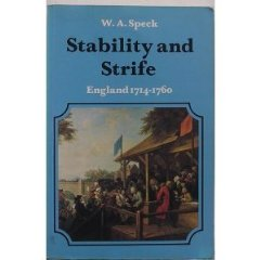 Image for Stability and Strife: England, 1714-60 (The new history of England)