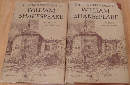 Image for The Complete Works of William Shakespeare(Two Volumes) Arranged In Their Chronological Order (With An Introduction To Each Play, Adapted From The Shakespearean Primer of Professor Dowden)
