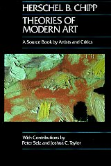 Image for Theories of Modern Art: A Source Book by Artists and Critics
