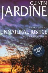 Image for Unnatural Justice (Oz Blackstone Mysteries)