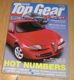 Top Gear  Magazine: issue 91-April 2001