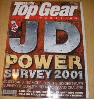 Top Gear  Magazine: issue 92-May 2001