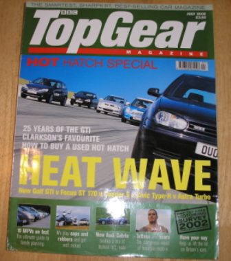 Image for Top Gear  Magazine: issue 106-July 2002