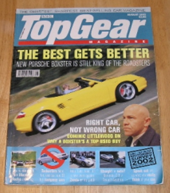 Image for Top Gear  Magazine: issue 107-August 2002