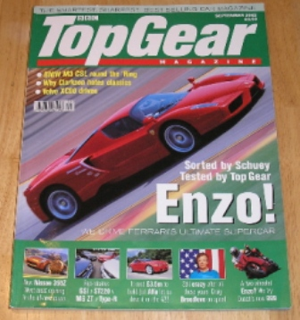 Image for Top Gear  Magazine: issue 108-September 2002