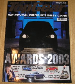 Image for Top Gear  Magazine: issue 115-April 2003