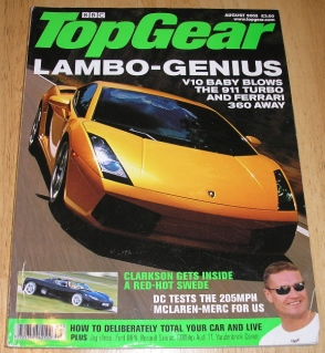 Image for Top Gear  Magazine: issue 119-August 2003