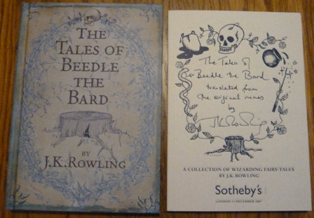 Image for The Tales of Beedle the Bard  & Sotheby's Auction Catalogue