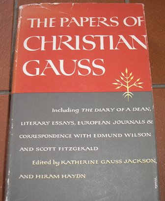 Image for The Papers of Christian Gauss