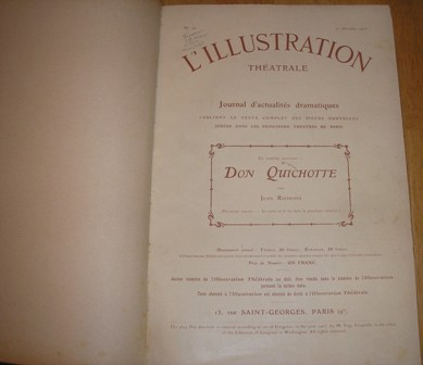 Image for L'Illustration Theatre 1905-1906- Supplements De Theatre Nos: 16 to 47 (Leather Bound)