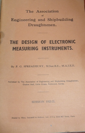 Image for The Design of Electronic Measuring Instruments