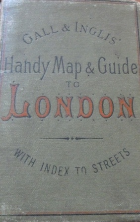 Image for Handy Map & Guide to London with index to Streets (Cruchley's Handy Map of London)