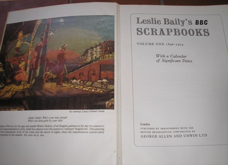 Image for Leslie Baily's BBC Scrapbooks, Volume One: 1896-1914, with a calendar of significant dates