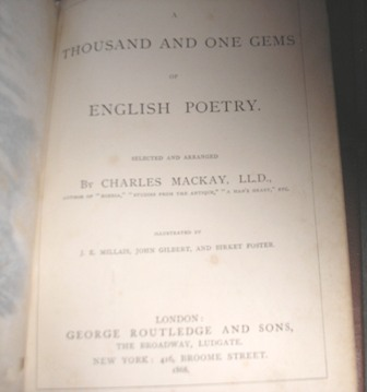 Image for A Thousand And One Gems Of English Poetry