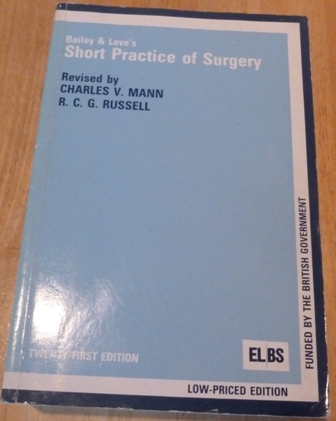 Image for Bailey and Love's Short Practice of Surgery