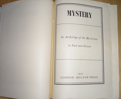 Image for Mystery: An Anthology Of The Mysterious In Fact And Fiction