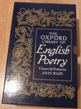 Image for The Oxford Library of English Poetry: Volume I, II, III
