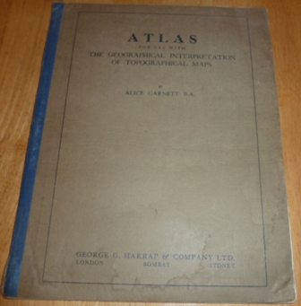 Image for Atlas for Use With the Geographical Interpretation of Topographical Maps