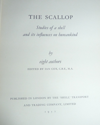 Image for The Scallop: Studies of A Shell and Its Influences On Humankind