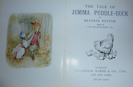 Image for The Tale of Jemima Puddle-Duck